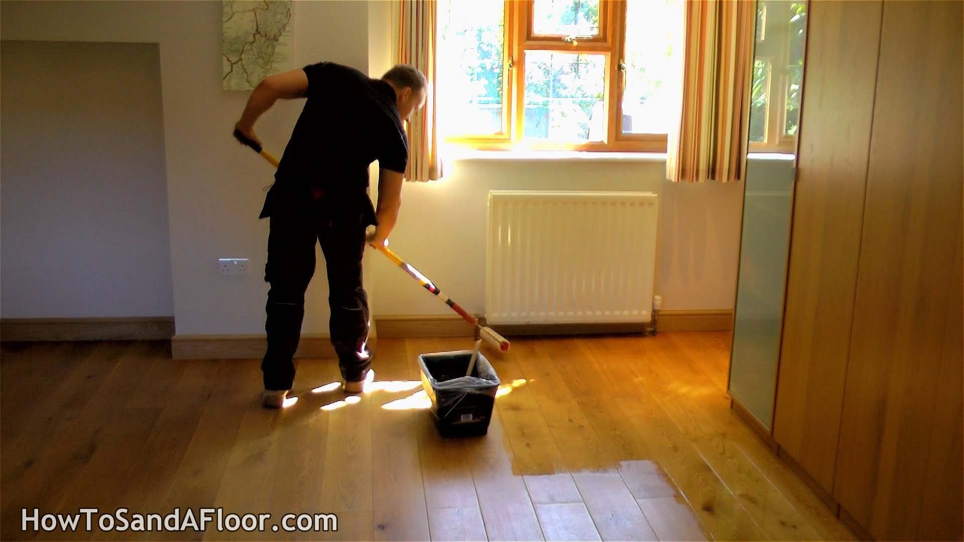 How To Refinish A Wooden Floor Without Sanding Under 1 Hour