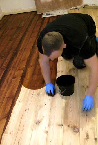 How To Stain A Wooden Floor Like A Pro How To Sand A Floor