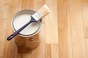 Painting Hardwood Floors